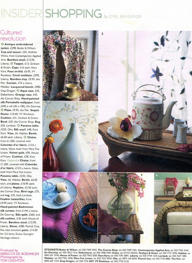 You Magazine Shopping, Eastern Inspired, Styling Rebecca de Boehmler