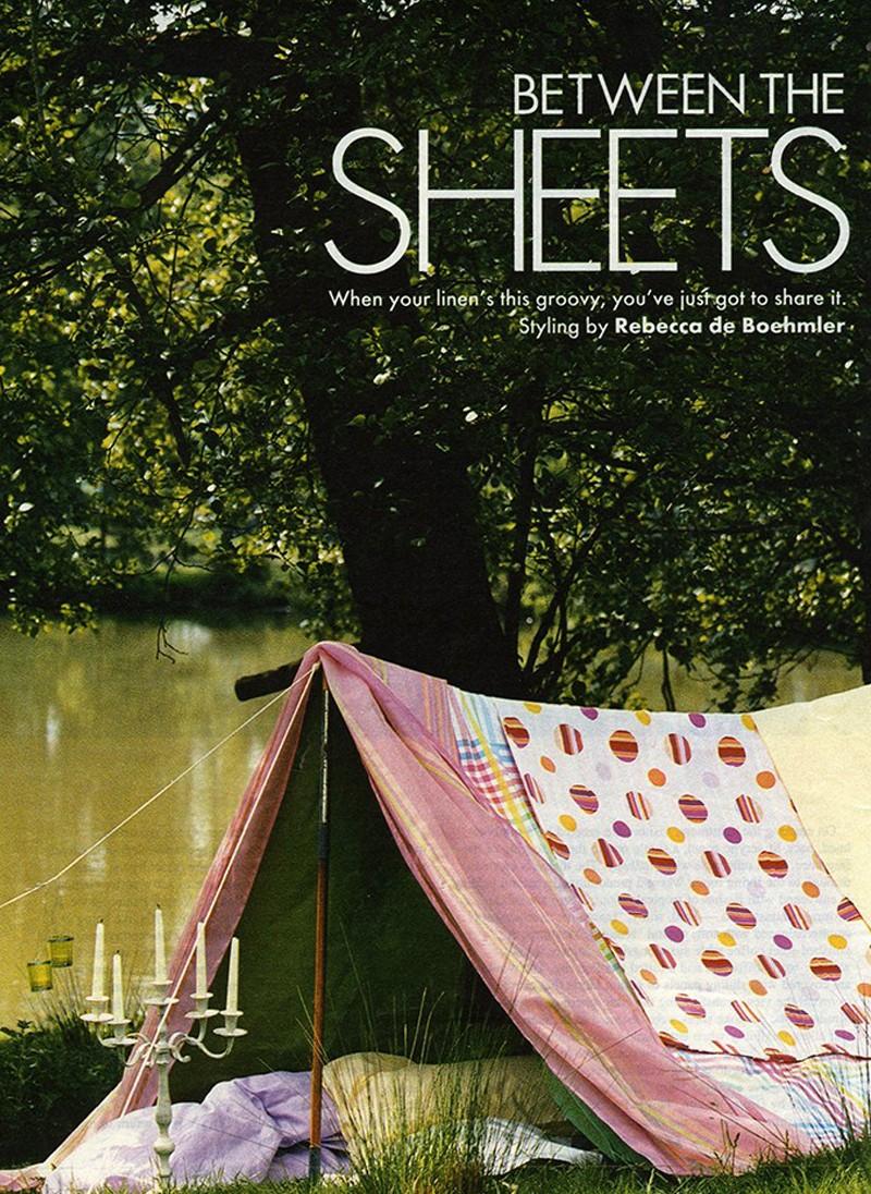 Sunday Times, Style magazine, Bedlinen feature, Styling Rebecca de Boehmler