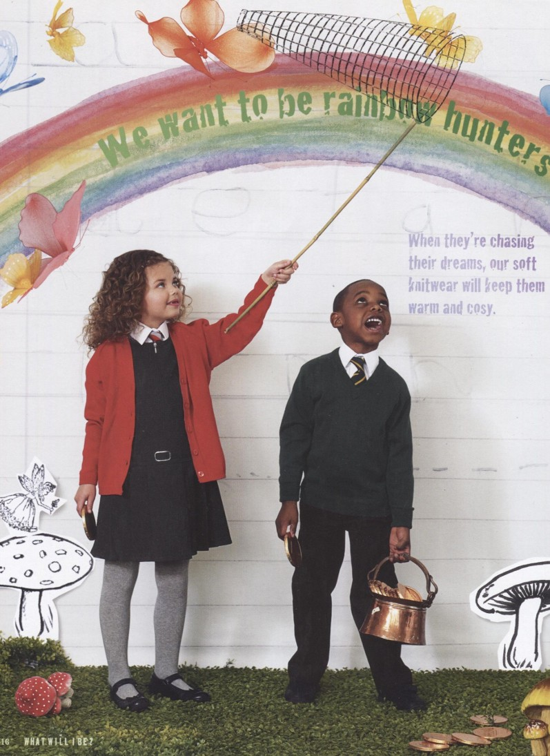 John Lewis  Children's back to school brochure-