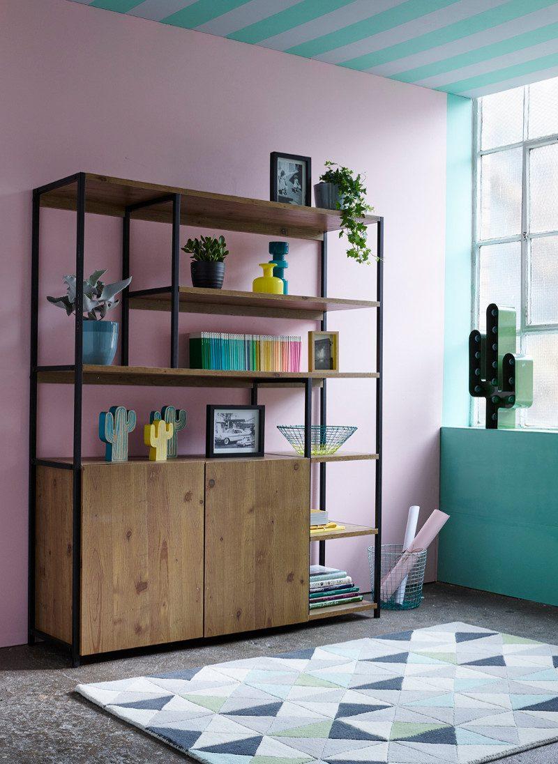 Debenhams Sitting Room Bookcase Spring Summer 2017 Rebecca De Boehmler