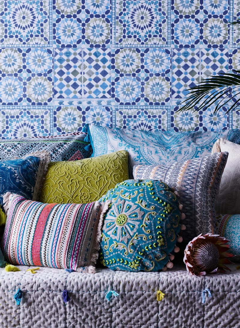 Matthew Williamson Home for Debenhams  Home-cushions images