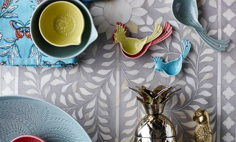 Matthew Williamson Home- kitchen- Accessories- Debenhams Spring Summer 2017