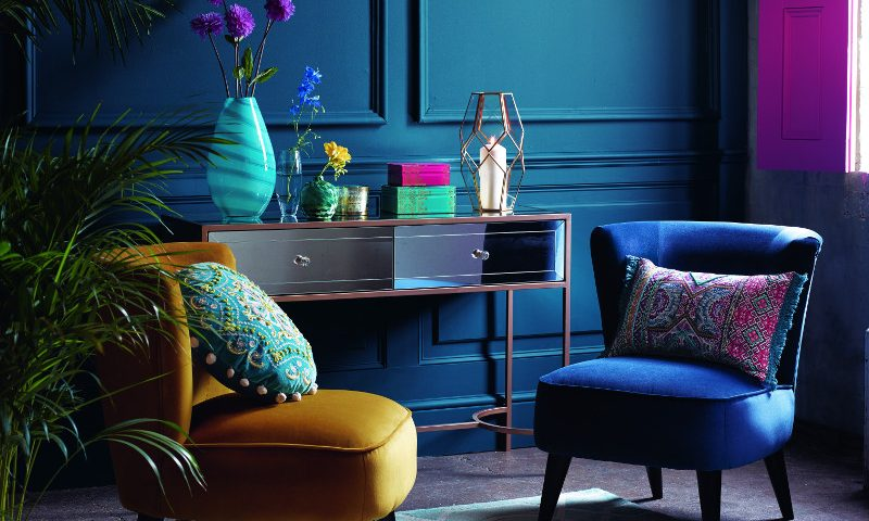Styling for Matthew Williamson at Debenhams Homes- console detail