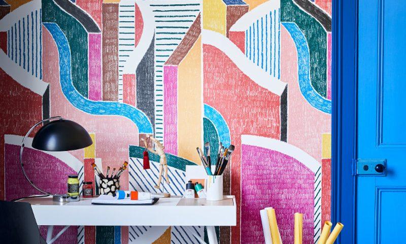 livingetc bold wallpaper