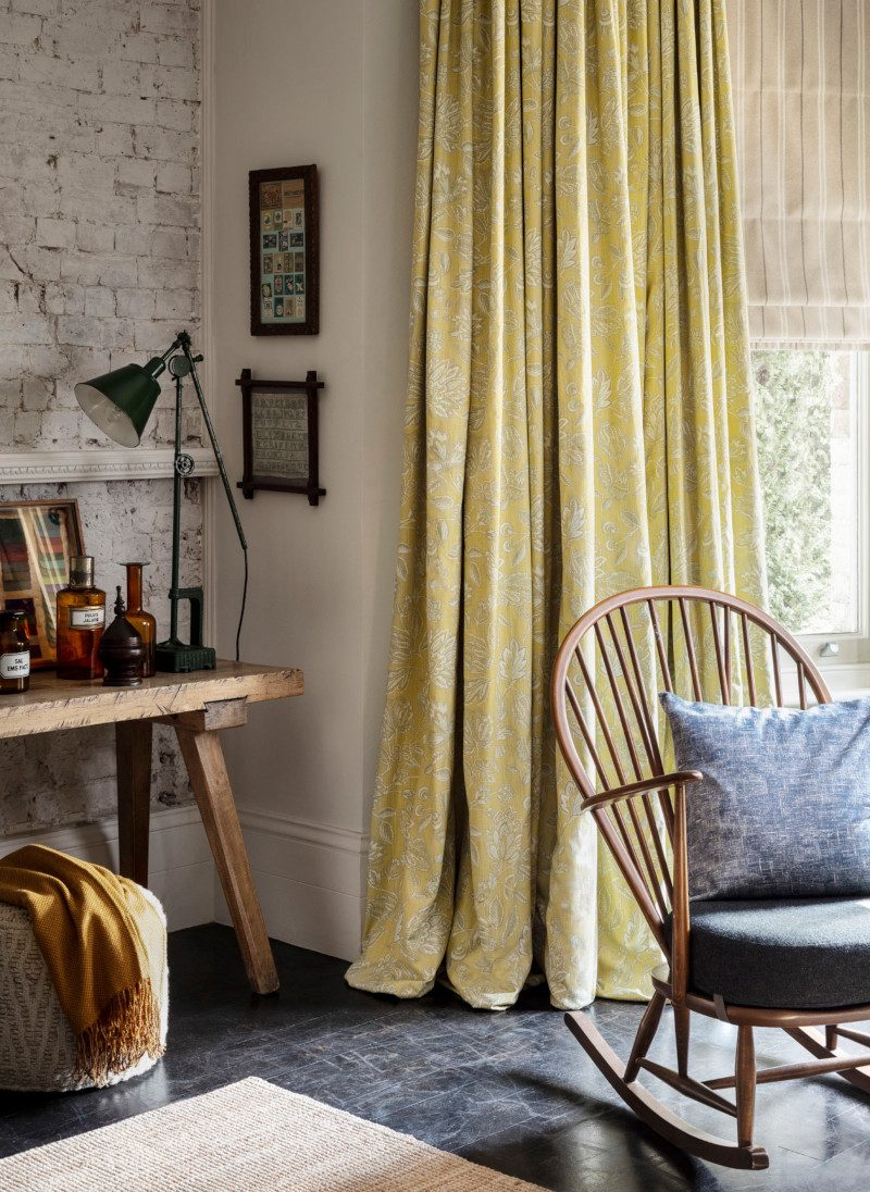 Hillary Blinds trend curtain styling