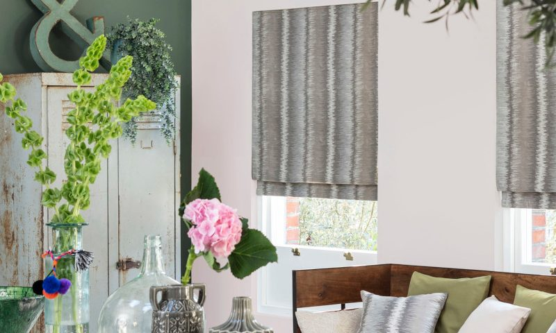 Hillarys Blinds curtain – living room and bedroom details