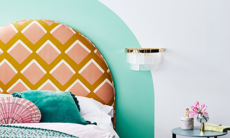 Miami Inspired – Scalloped bed